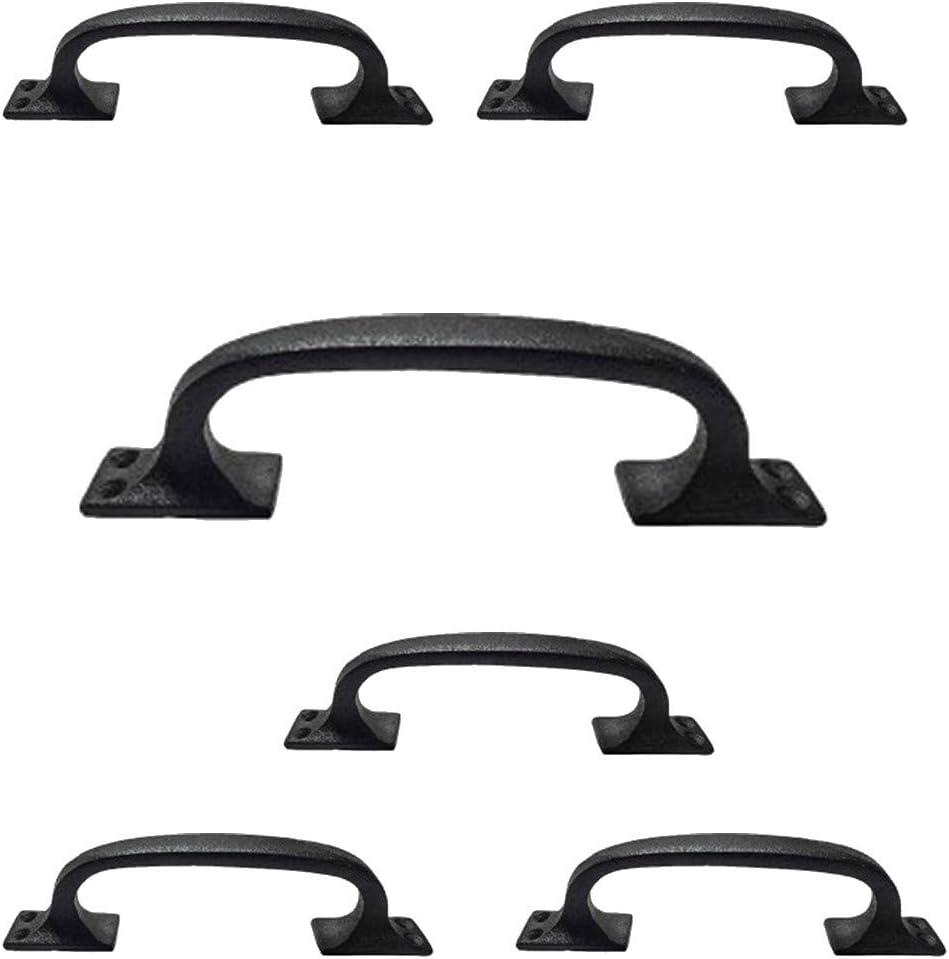 Overseas parallel Sale price import regular item Renovators Supply Manufacturing Black Cabinet Handl Wrought Iron