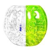 Sunnyflowk Human Knocker 0,8 mm Spessore Gonfiabile Bubble Buffer Ball Bumper Soccer Zorb Ball per Adulti attività all'aperto Esecuzione di Gioco (Verde)