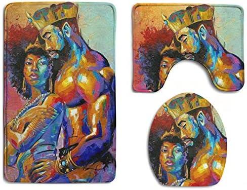 African woman rug _image1