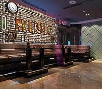 写真の壁紙機械的な金属音楽文字ツーリング背景壁リビングルームの壁の芸術の壁の装飾の家の装飾のための大きな壁壁画シリーズの壁紙-196.8x118.1inch/500cmx300cm