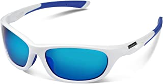 Duduma Gafas de Sol Deportivas Polarizadas Perfectas Para Esquiar Golf Correr Ciclismo con el Marco Irrompible Du646 Para Hombre y Para Mujer