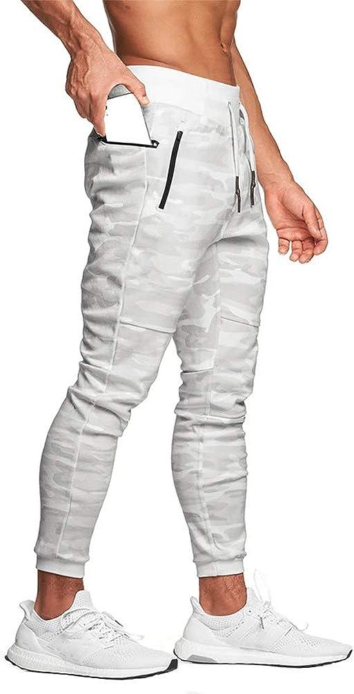 KIAYKL Men's Gym Max 71% OFF Jogger Pants Slim In stock Sweatpants Athlet Fit Workout