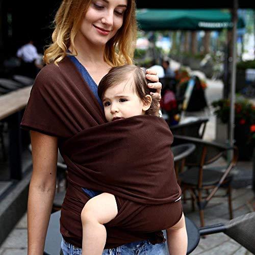 Porte-bébé HZYD -Baby réglable en Coton Allaitement, Doux, Confortable (Couleur: F) (Couleur: F) (Couleur: E) (Couleur: F), Couleur: F ( Color : E )