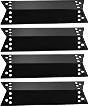 VICOOL 15 Inches Porcelain Steel Grill Heat Plate, Heat Tent, Burner Cover Replacement for Charbroil 463411911, 463411512, Nexgrill, Kenmore Sears, K-Mart, Tera Gear Model Grills, hyJ068A (4-Pack)