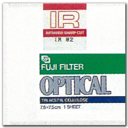 FUJIFILM 光吸収・赤外線透過フィルター(IRフィルター) 単品 フイルター IR 82 10X 1