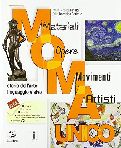 M.O.M.A. Materiali-opere-movimenti-artisti. Storia dell'arte. Linguaggio visivo. Vol. unico. Con Album dell'arte. Per la Scuola media. Con ebook. Con espansione online