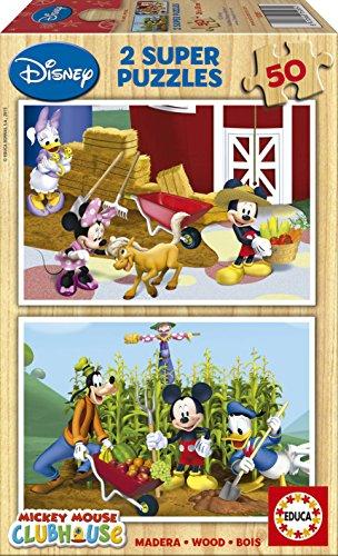 Puzzles  Madera Mickey