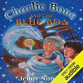 Charlie Bone and the Blue Boa cover art