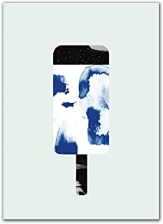 XiangRuima Nordic Minimalist Art Canvas Painting Ice Cream,Wall Art Painting Pictures Print On Canvas The Picture for Home Decoration - A_4060cm