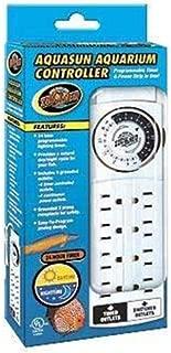 Zoo Med AquaSun Aquarium Controller Timer & Power Strip, White