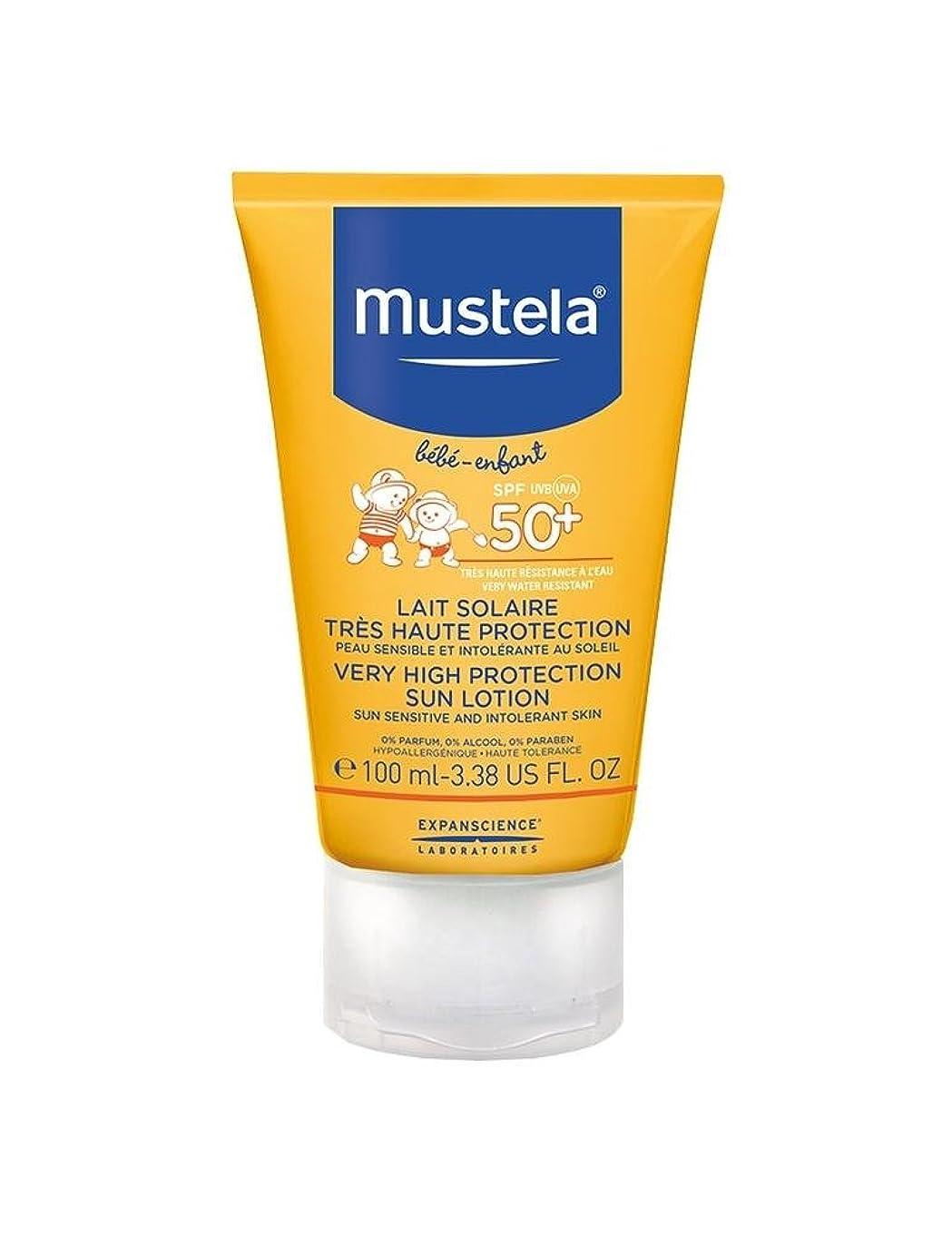 領事館おばさん作者Mustela Sun Face Milk Spf50 + 40ml [並行輸入品]