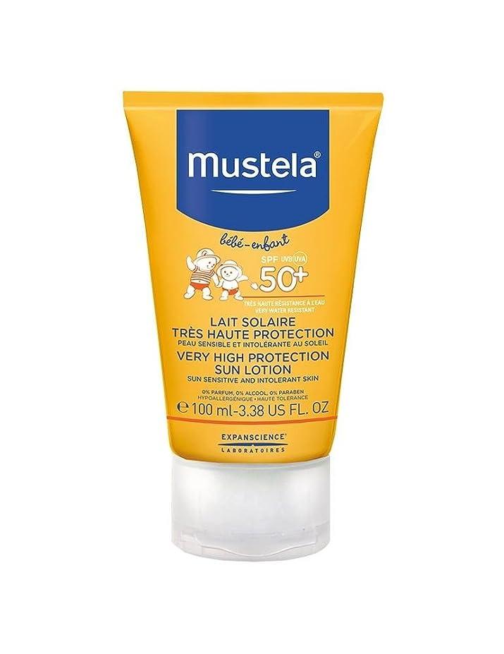 熟達修正する磁石Mustela Sun Face Milk Spf50 + 40ml [並行輸入品]