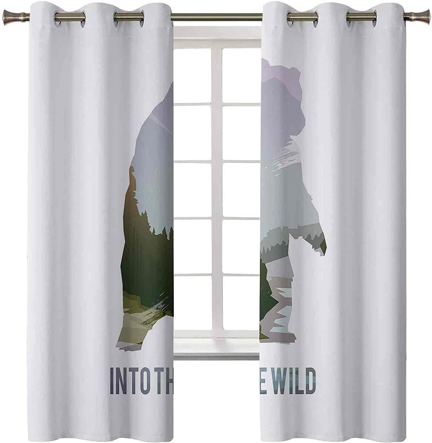 lowest price Sound Proof Curtains Wild Animals of Wil Survival in Chicago Mall The Canada