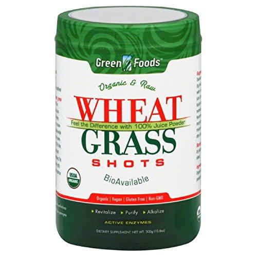 Green Foods Wheat Grass Shots Og1 10.6 Oz