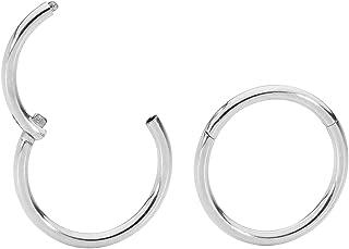Wonlines Fashion Rose Gold Stainless Steel Ball Ear Line Dangle Stud Earrings