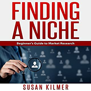Finding a Niche audiobook cover art