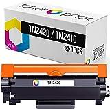 TONERPACK 1 Tóner para Brother TN2420 (con Chip), Cartucho de Tóner Compatibles TN-2420 para Brother DCP L2510D L2530DW L2550DN HL L2310D L2350DW L2370DN L2375DW MFC L2710DN L2710DW L2730DW (Pack 1)
