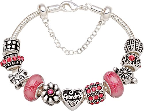 """Grandma Grows A Garden Of Love"" Bracelet"