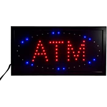 LED Open Sign Super Bright Oval Shape Led Bar Sign Board Pub Club Window Display Light Lamp Business Open Sign Advertisement Board for Shop Fronts//Windows Cafes KTV 9.84 x 18.9inch