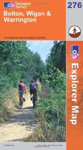 OS Explorer map 276 : Bolton, Wigan & Warrington