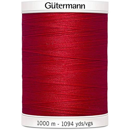 Gutermann Sew all Filo di Poliestere, Rosso Cremisi 0156, 1000m