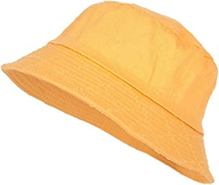 DIEBELLAU Women's Fisherman Hat Universal Dome Wild Short Cap (Color : Yellow, Size : One Size)