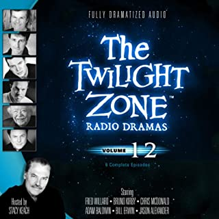 The Twilight Zone Radio Dramas, Volume 12 cover art