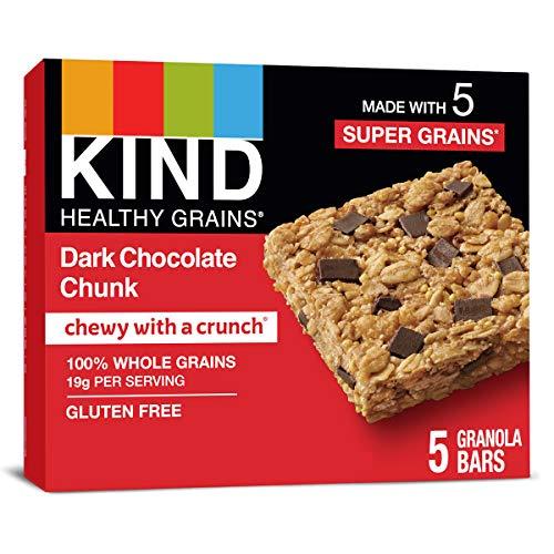 Kind Healthy Grains Bars, Dark Chocolate Chunk, 1.2 Ounce, 5 Count