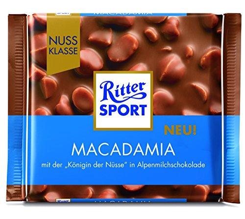 Ritter Sport Macadamia, 1er Pack (1 x 100 g)