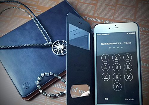 『isp iPhone 6 Plus / 6s Plus 開閉式 スリーブケース + ispロゴ入りオリジナルクロスセット ブラック』の3枚目の画像