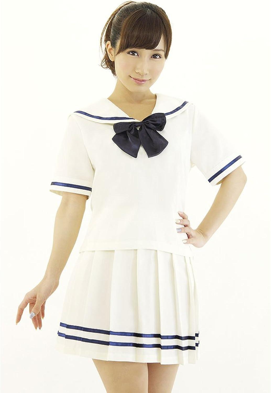 Be With Women's Cream color School Uniform