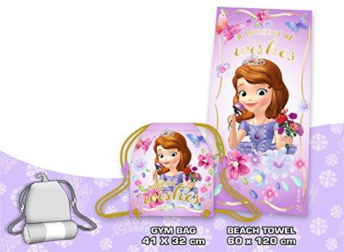 Set toalla saco Princesa Sofia Disney