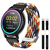 Smart Watch for Android/iOS Phones, Eastcoo 1.3'' HD Touch Screen Fitness Tracker Watches, Waterproof Smart Watch for Women with Text and Call Alerts, Heart Rate, Sleep Monitor Smartwatch for iPhone