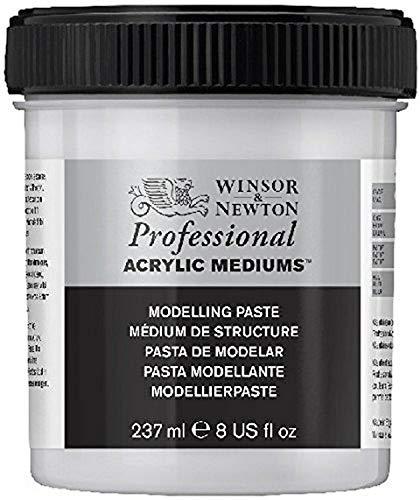 Winsor & Newton Malmittel, Acryl, Modellierpaste, Strukturmittel-237ml Topf