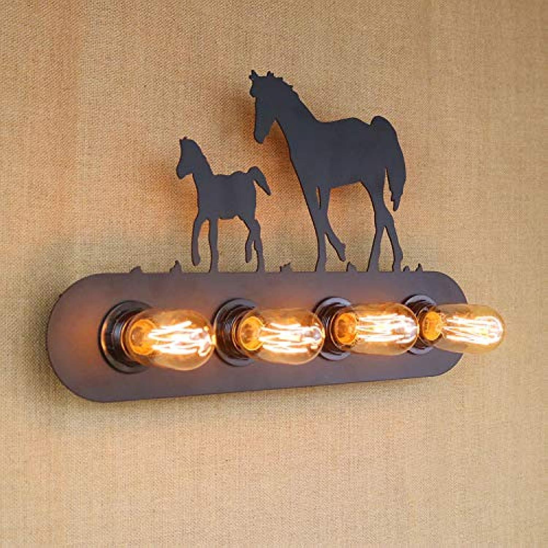 Amerikanischen Land Nordic Beliebte Kreative Innovation Nordamerikanischen Populren Modernen Restaurant Dekoration Eisen Glas Wandleuchte 5 Watt 110-240 V