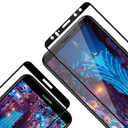 Protector Pantalla para Huawei Mate 10 Lite, [2 Piezas] Cristal Templado para Mate 10 Lite, [3D Cobertura Completa] [9H Dureza] [Resistente a Arañazos] Vidrio Templado para Mate 10 Lite