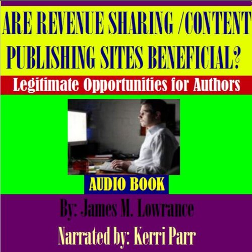 Are Revenue Sharing Article/Content Publishing Sites Beneficial? cover art