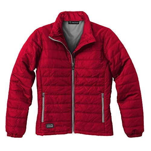 DRI Duck Women's 9408 Belay Puffer Jacket, Red, X-Large