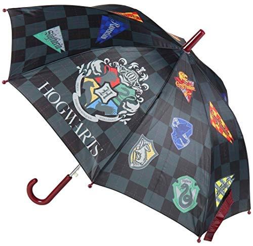 CERDÁ LIFE\'S LITTLE MOMENTS- Paraguas Automático Infantil Harry Potter - Licencia Oficial Warner Bros, Color marrón (2400000538_T45C-C74)