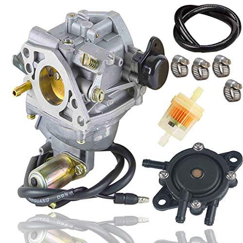 Fyange GX610 Vergaser + Kraftstoffpumpe für Honda GX 610 GX620 18HP 20PS Motorrasenmäher 16100-ZJ0-872, 16100-ZJ1-872 mit Kraftstofffilter/Kraftstoffleitung