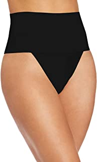 cnnIUHA Women's Briefs Body-Shaping Fit Panties Underwear, Sexy Underpants Breathable Comfort Shorts Pants G-Strings Thong T-Back for Women Black