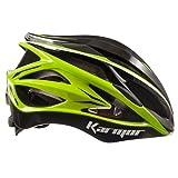 Karmar(カーマー) ヘルメット ASMA2(アスマ2) ブラック/ライトグリーン ヘルメットS/M R2KA150805X 55-58cm