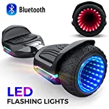 Gyroor Hoverboard 6.5' inch All Terrain Off Road T581 Hoverboards,with Bluetooth Speaker and App-Enabled, Smart Self Balancing Hover Board and Two-Wheel with UL2272 Certified for Kids and Adults