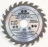 Inter-Kert Lame de scie circulaire, 24dents, 125mm, pour bois, 125x22x24dents