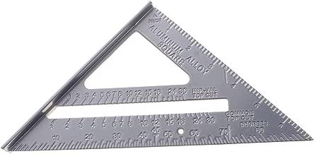Multifunci/ón Cuadrado Regla de l/ínea de 45 grados y 90 grados 3D Tipo de tope de carpinter/ía Herramientas de carpinter/ía Regla aleatoria con bol/ígrafo