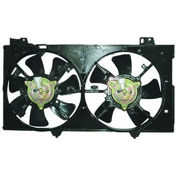 Depo 316-55026-000 Dual Fan Assembly