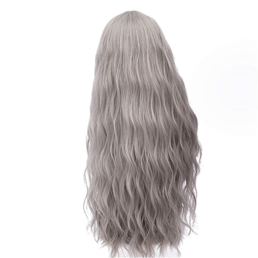70 Cm Long Pink Wavy 35% OFF play Synthetic All items free shipping Col 28 Natural Women's Blond