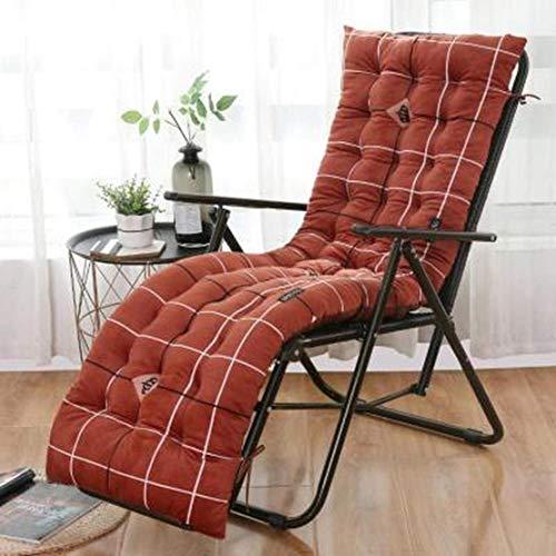 JGHF Cojín de color sólido suave y cómodo para silla de oficina, cojín de silla reclinable, cojín largo, varios tamaños disponibles (estilo 30 sin silla, 48 x 120 cm)