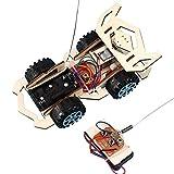 Amyove Kits de Bricolage pour véhicule électrique en Bois pour Enfants Kits de Technologie pour la Science éducative Construisez-Le Vous-même