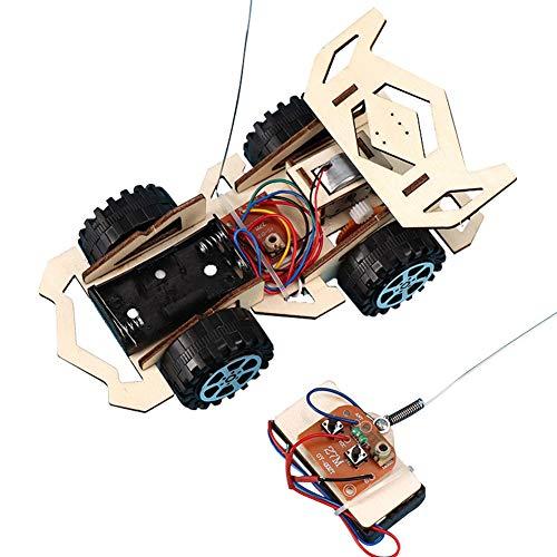 Faironly Kinder Elektro-Holz-Fahrzeug-Montageset, pädagogische Wissenschaft, wie abgebildet